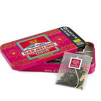 Органический индийский зеленый чай Дарджилинг с ароматом лотоса  20г , Terre d'Oc