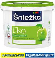 ФАРБА ŚNIEŻKA EKO 1,4 кг
