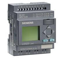 Логический модуль ЦПУ Siemens LOGO! 12/24RC, 6ED1052-1MD00-0BA6