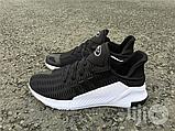 Чоловічі кросівки Adidas Climacool ADV чорні на білій підошві, фото 2