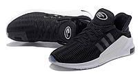 Мужские кроссовки Adidas Climacool ADV черные на белой подошве, фото 1