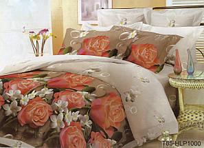 Двуспальное постельное белье София 3D Испанская сеньорита