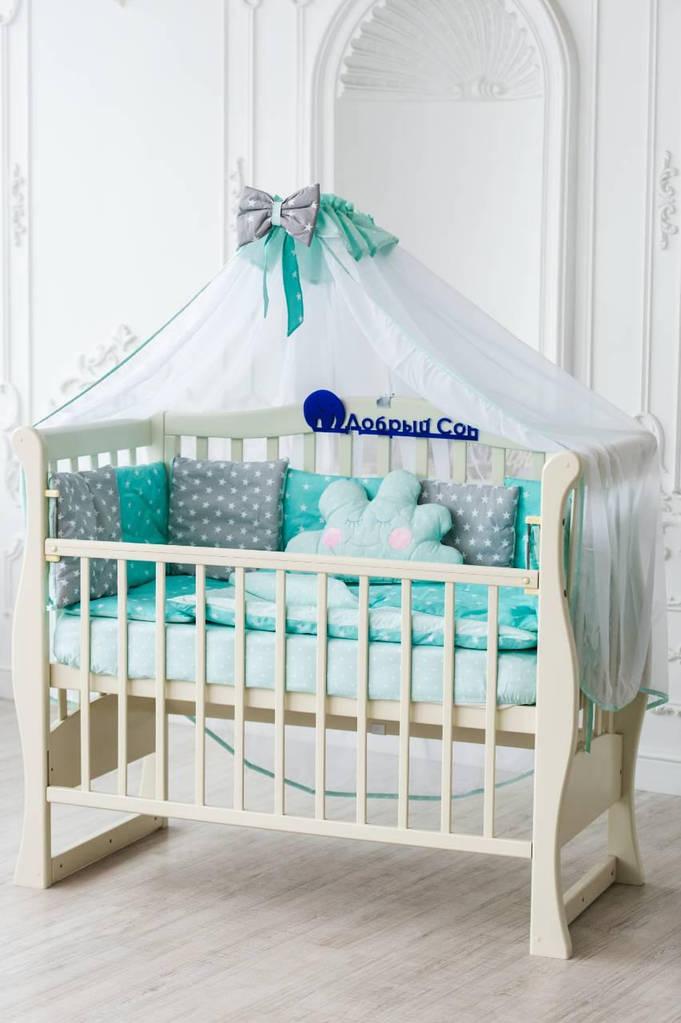 Детский постельный комплект Облако Звезды