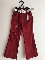 Вельветовые штаны для девочки. Размеры от 6-ти до 12-ти лет, фото 1