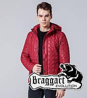 Braggart Evolution 1386   Мужская ветровка красная