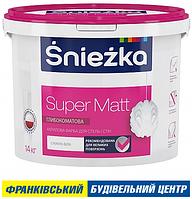 ФАРБА ŚNIEŻKA SUPER MATT 4,2 кг