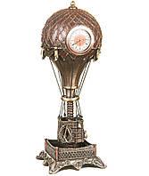 """Статуэтка - часы Veronese стимпанк """"Воздушный шар"""" 31 см"""