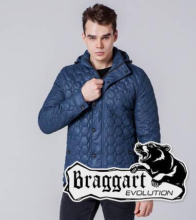 Braggart Evolution 1386   Мужская ветровка индиго, фото 2
