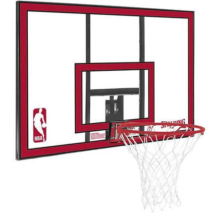 Баскетбольный Щит Spalding 79351Cn Nba Combo 44 Polycarbonate, фото 2
