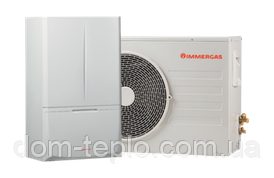 Тепловой насос Immergas Magis Combo PLUS 8 ErP + конденсационный котёл