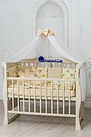 Детский постельный комплект Облако Совы