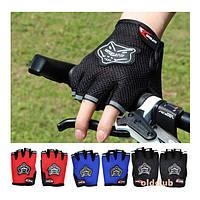 Велоперчатки без пальцев (перчатки для велосипеда)