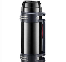 Термос большой 1.2 литра черный