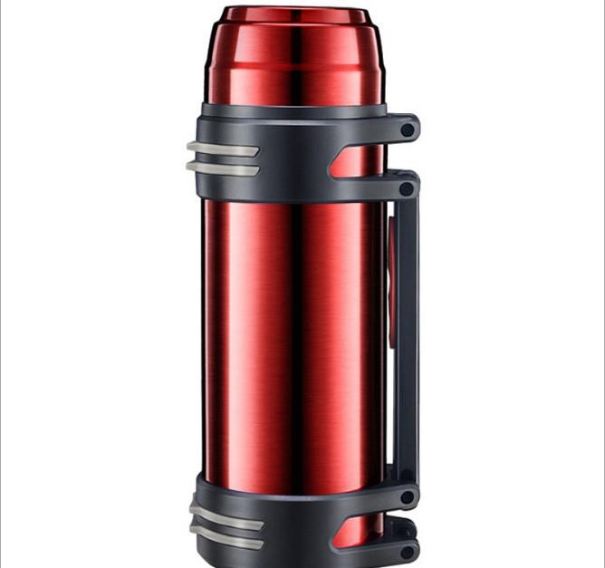 Термос большой 1.2 литра красный