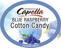 Ароматизатор Capella Blue Raspberry Cotton Candy (Малиновая вата)