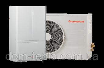 Тепловой насос Immergas Magis Combo PLUS 10 ErP воздух-вода + конденсационный котёл
