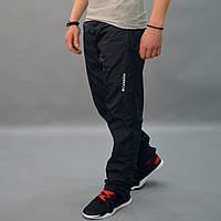 Утепленные штаны из плащевки - Columbia (Коламбия) / Демисезонные, размеры 46-54, темно-синие