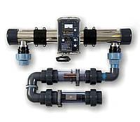 Ионизатор активного кислорда и меди E-Clear Англия (очистка бассейна до 80 м³ без хлора)