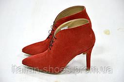 Женские Ботильоны Pieces на шнуровке на каблуке