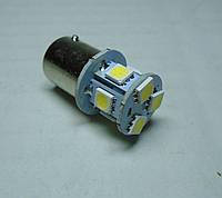 Светодиодная лампа габаритов 12В ВАЗ, ЗАЗ, ГАЗ, УАЗ R5W белая