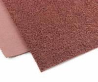 Фоамиран плюш (махровый) 21х30см. цвет-коричневый