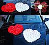 Украшение на свадебный автомобиль (прикраси на машину) украшения машины на свадьбу