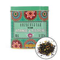 Органический узбекский чай со сладким миндалем и фисташками 100 г, Terre d'Oc