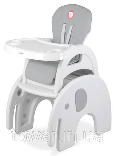 Детский стул для кормления Lionelo Eli 5in1 Grey