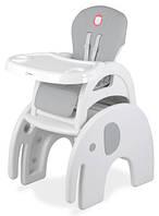 Детский стул для кормления Lionelo Eli 5in1 Grey, фото 1