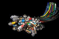 Соединительные кабели, адаптеры,шнуры,переходники