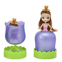 """Кукла серии """"Цветочные принцессы"""" S1 - Мисc Фиалка (с ароматом клубники) 113461-5"""