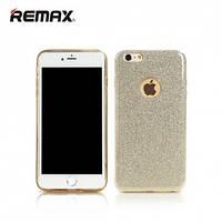 TPU чехол c блестками Remax Glitter на iphone 7