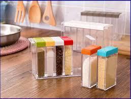 Кухонная подставка с шестью емкостями для специй, фото 3