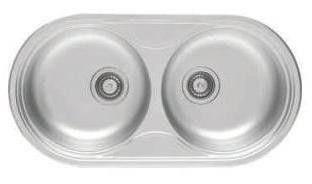 Кухонная мойка PYRAMIS SR TWIG (45X85) 2B Linen (92 mm), фото 2