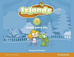 Islands 1 Class Audio CDs (4)