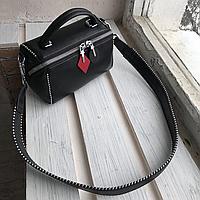 Крутая кожаная женская сумка, фото 1