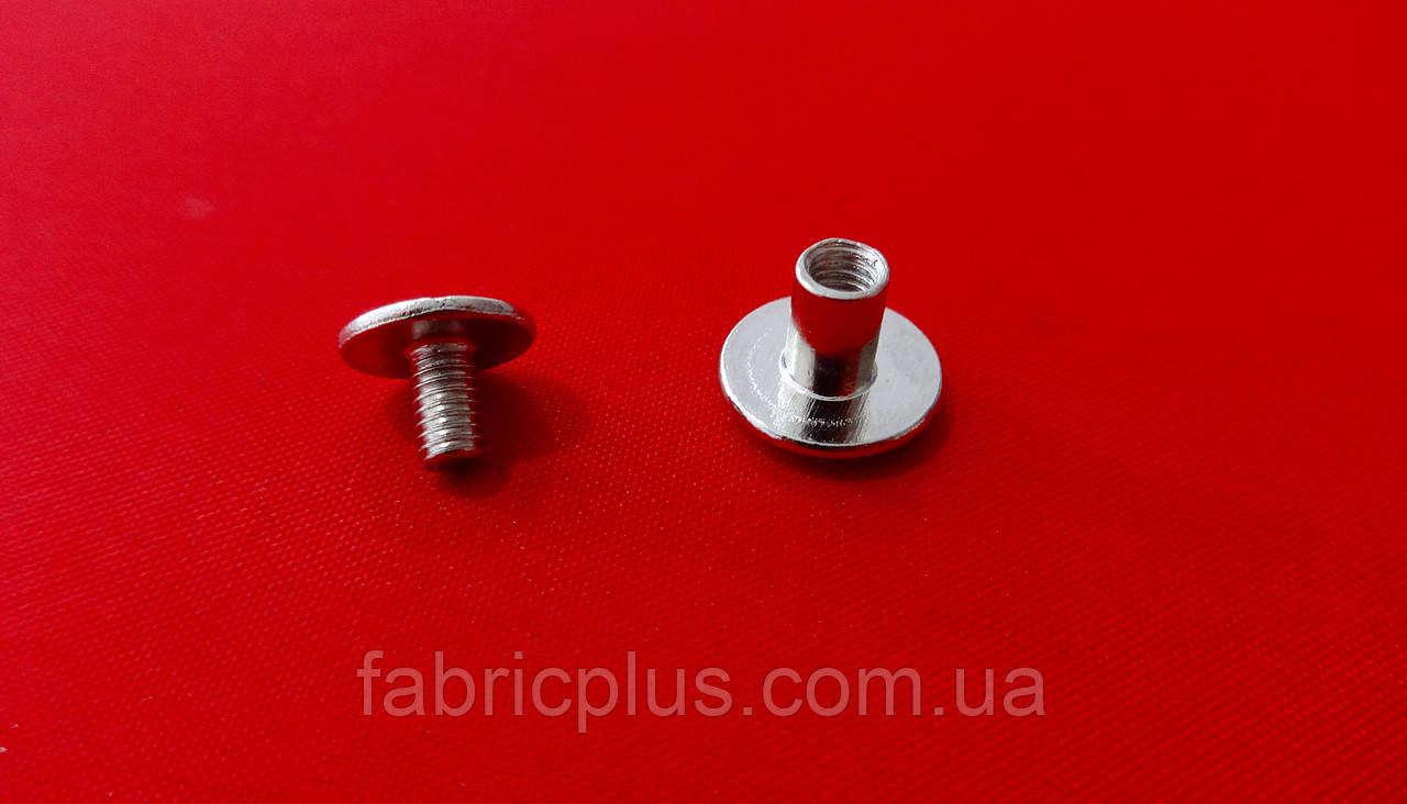 Винт ременной никель (10х5 мм)