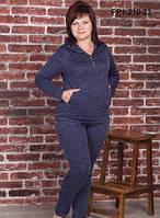 Трикотажный  женский  костюм р.р 52-58, фото 1