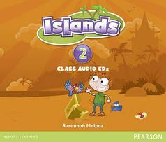 Islands 2 Class Audio CDs (4)