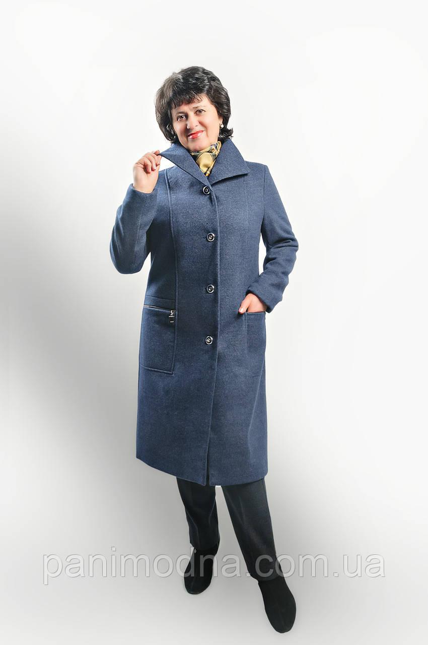 """Пальто  женское """"Афродита"""" на подладке из шерсти """"Меланж"""", фото 1"""