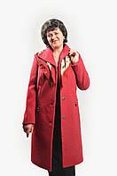 """Женское модное пальто  """"Афродита"""" на подладке из шерсти """"Меланж"""""""