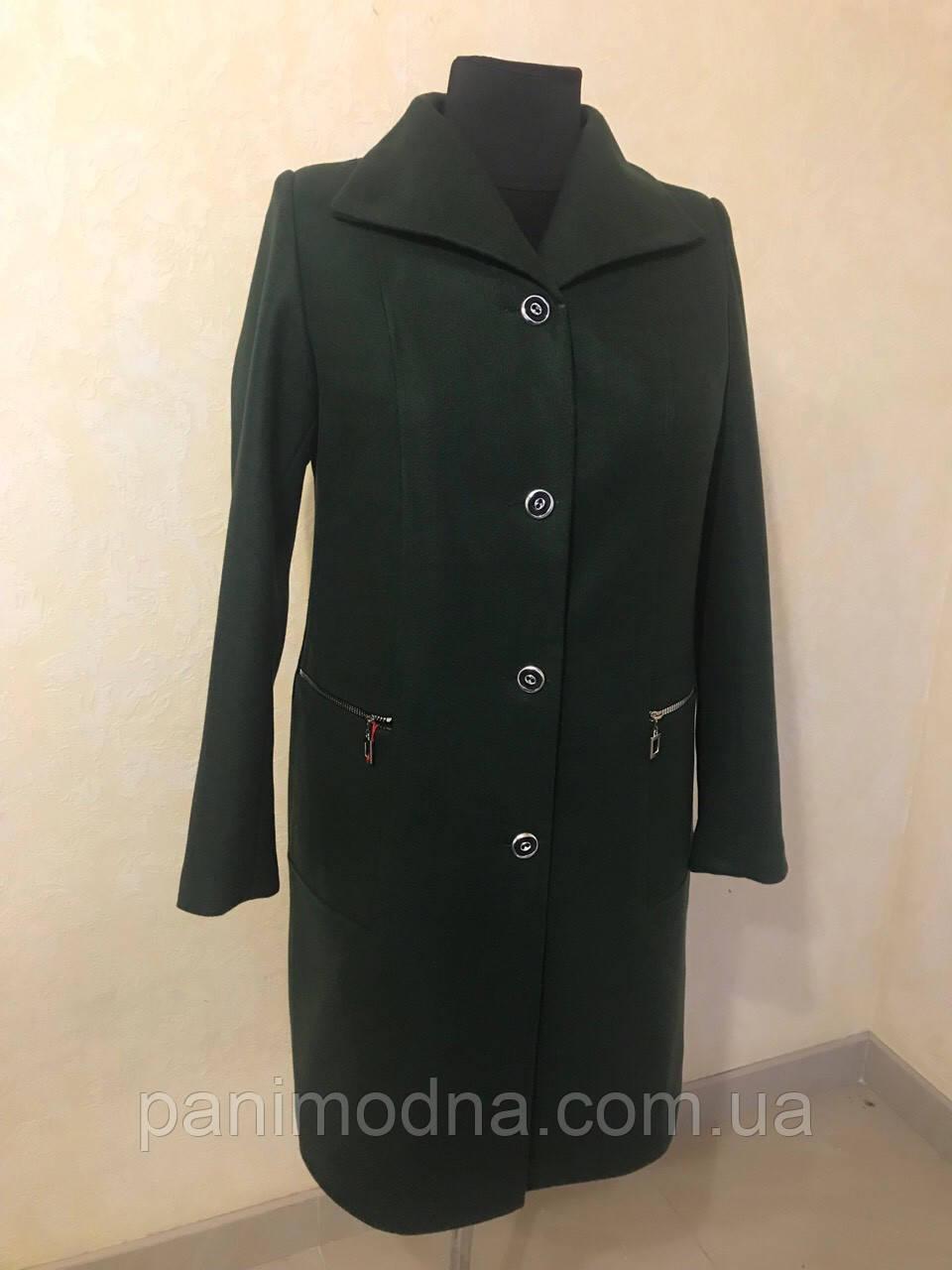 """Женское стильное пальто  """"Афродита"""" на подладке из шерсти """"Меланж"""""""