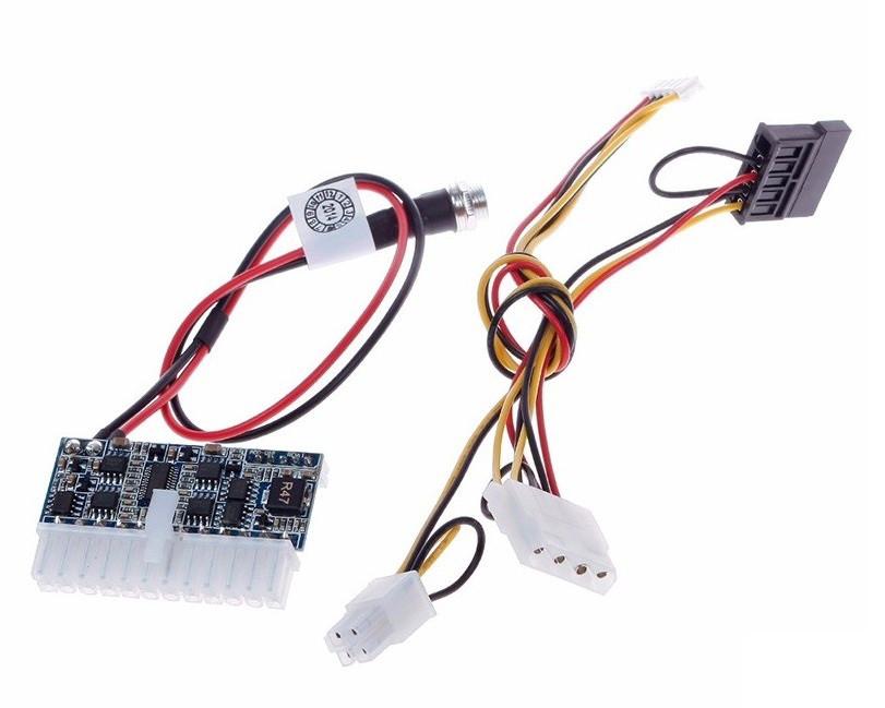 Блок питания PICO PSU формат Mini-ITX 160Вт  DC-DC преобразователь, бл
