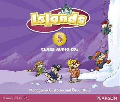 Islands 5 Class Audio CDs (4)