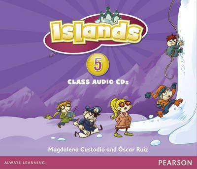 Islands 5 Class Audio CDs (4), фото 2