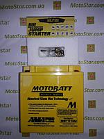 Motobatt MBTX16U Мото акумулятор 19 A/ч, 250 A, (+/-)(-/+), 151x87x161 мм