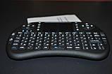 Беспроводная мини клавиатура с тачпадом русская, фото 5