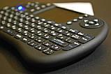 Беспроводная мини клавиатура с тачпадом русская, фото 6