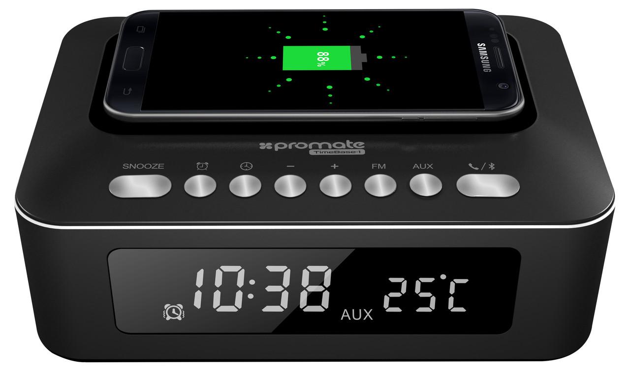 Bluetooth колонка Promate TimeBase-1 Black