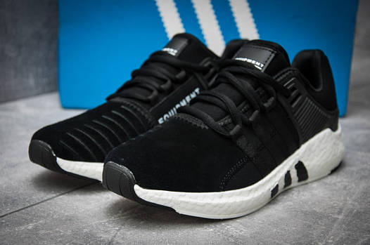 Кроссовки мужские Adidas  EQT ADV/91-17, черные (12165), р. 41 - 45